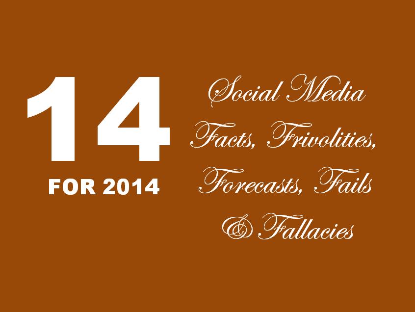 Social Media Facts 2014 14 Social Media Facts