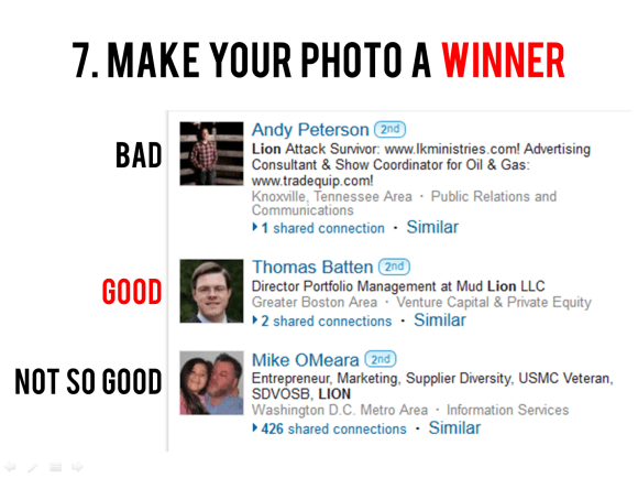Make your LinkedIn Photo a winner