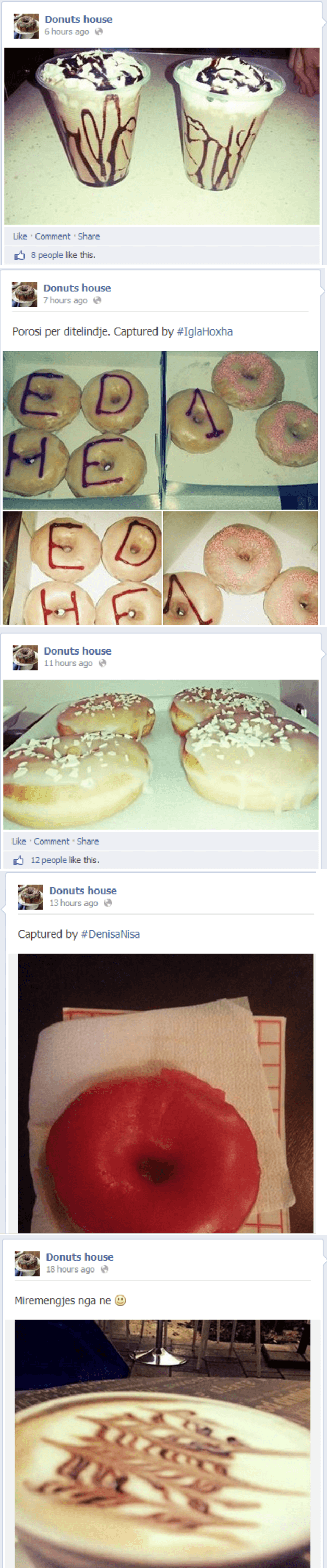 donut posts that nobody cares about