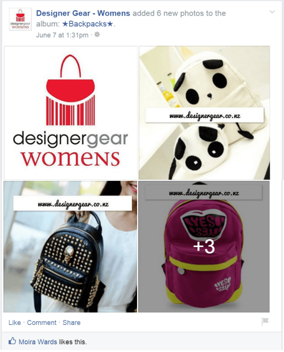 Designer Gear Womens