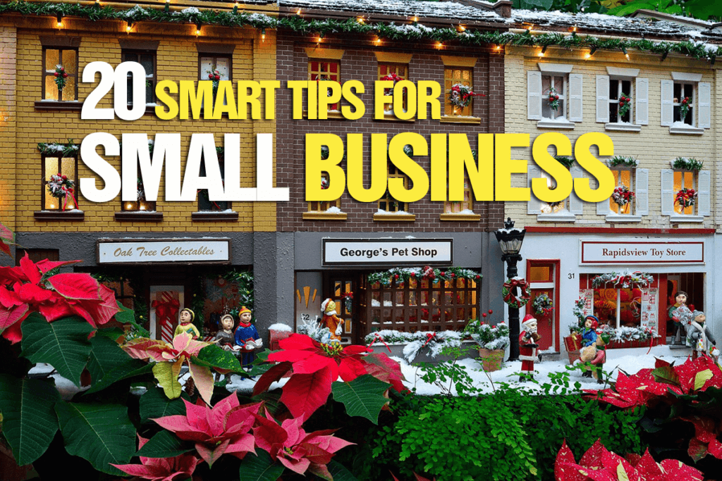 20 smart tips for small business