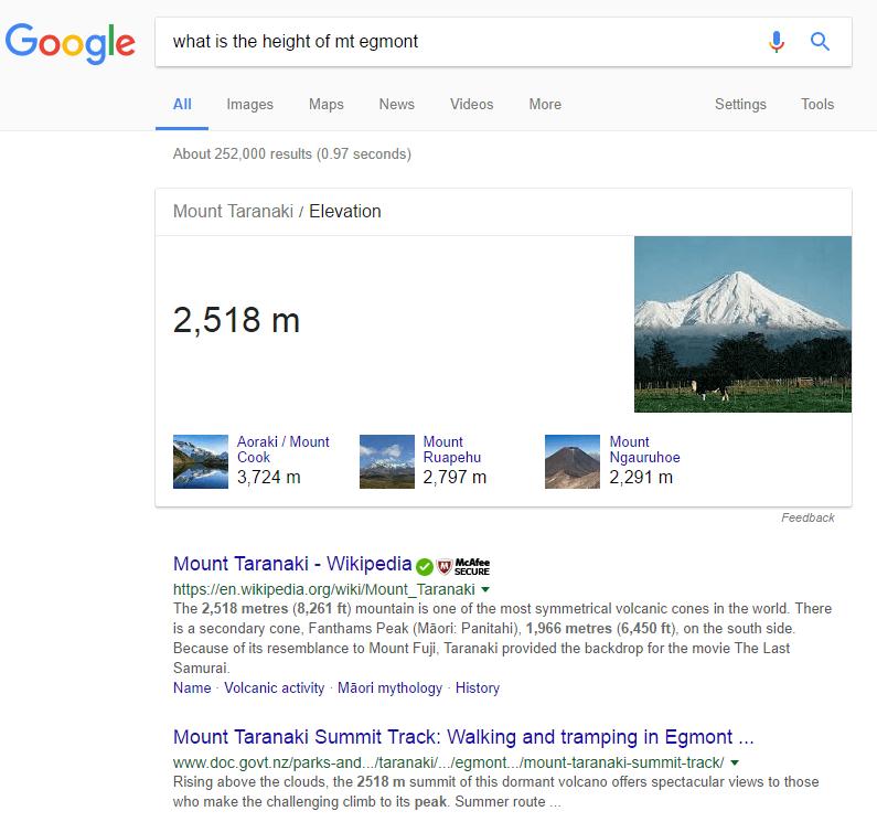 google-height